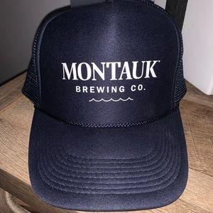 Montauk Brewing Co. Trucker SnapBack hat